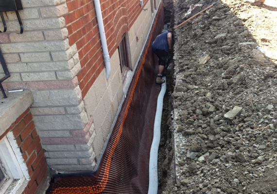 Professional Basement Waterproofing in Etobicoke Ontario